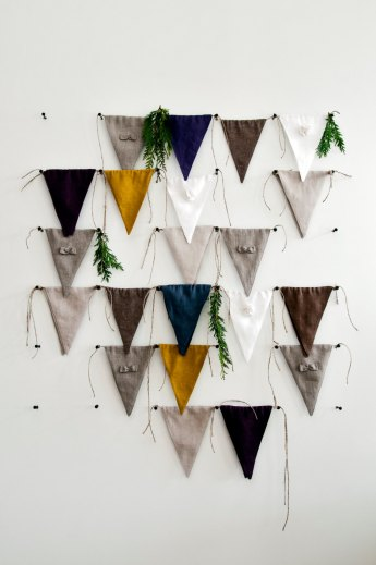 Linen Bunting by Lovely Home Idea | Friday Favorites via Fox & Brie