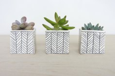 Ceramic Planter by Elizabeth Benotti | Friday Favorites via Fox & Brie