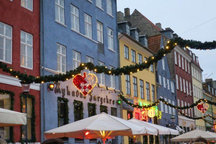 Nyhaven marché de Noël Copenhague