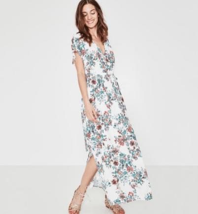 robe-longue-promod-fleurs