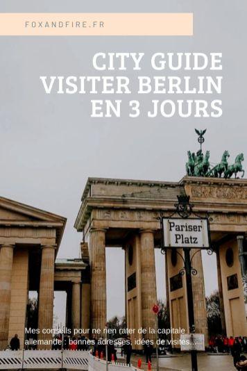 City Guide : week-end à Berlin