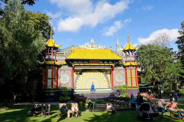 Les concerts d'été aux jardins de Tivoli