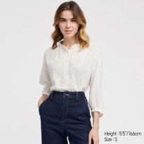 collection printemps été 2019 chemise en lin Uniqlo