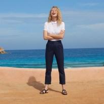 collection printemps été 2019 pantalon en lin La Redoute