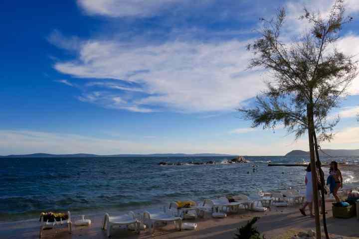 se baigner à Split