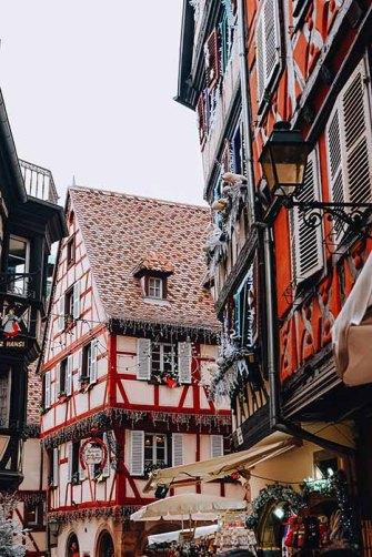 Maisons colombages à Colmar