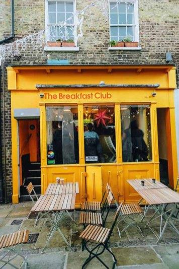 Manger à Londres Camden Passage