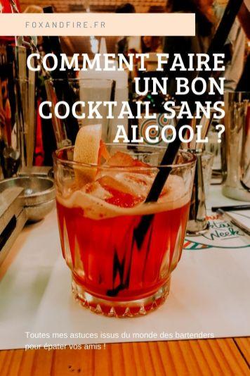 Astuces pour faire un cocktail sans alcool