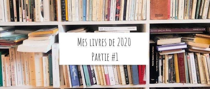 Mes livres de 2020 Partie #1
