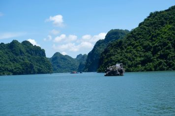 Vue de la baie de Halong