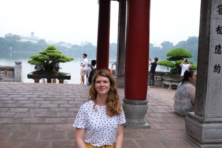 Pagode à Hanoï