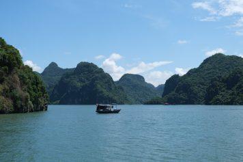 Vue sur la baie de Lan Ha