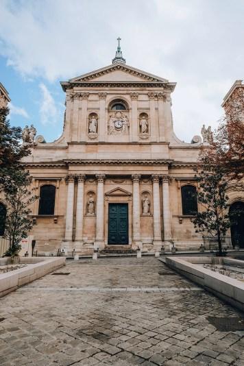Entrée de la Sorbonne