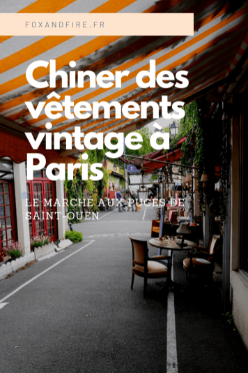 Où chiner à Paris ?