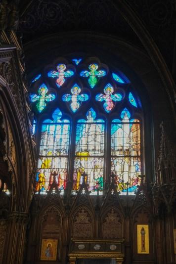 Les vitraux de St Etienne du mont