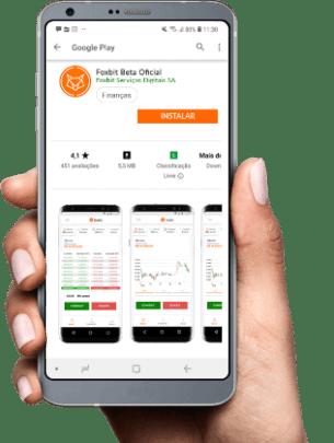 Aplicativo Foxbit - Comprar e vender bitcoin é aqui