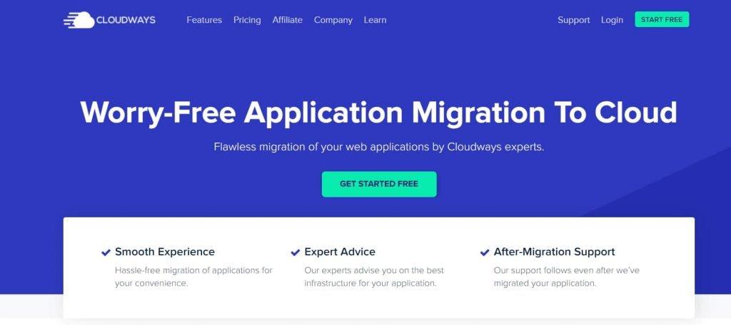 Benefits of free site migration to cloud hosting