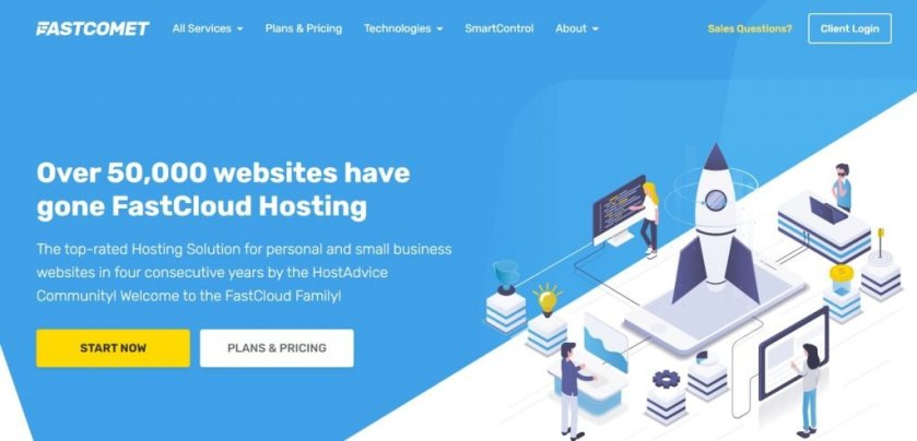 Web Hosting with Indian Data centre - Fastcomet