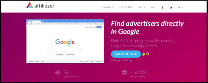 Affilitizer Free Chrome Extension