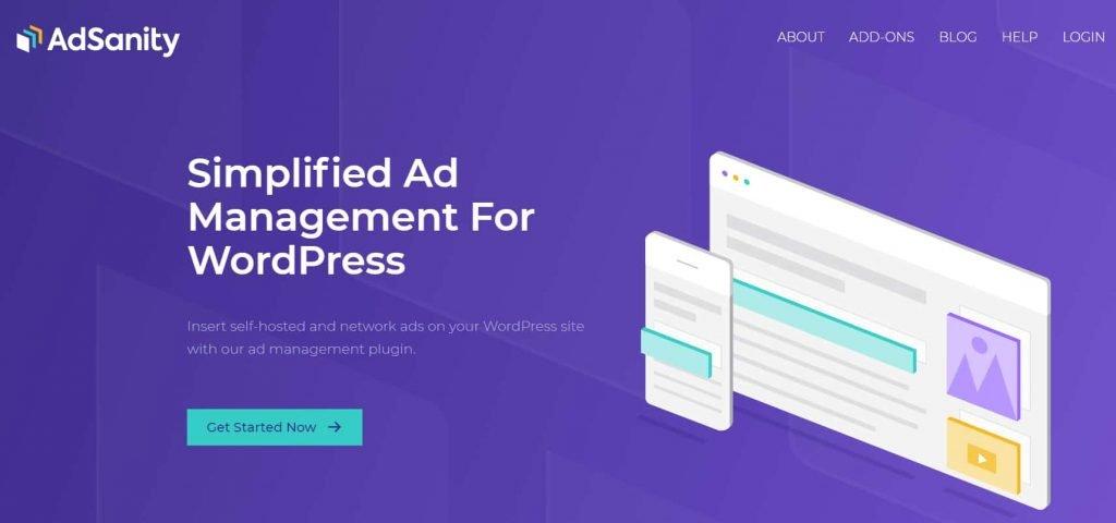 Adsanity - Ad management