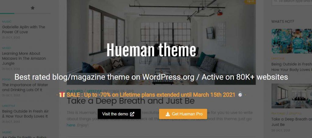 Hueman - Best Free Blog themes