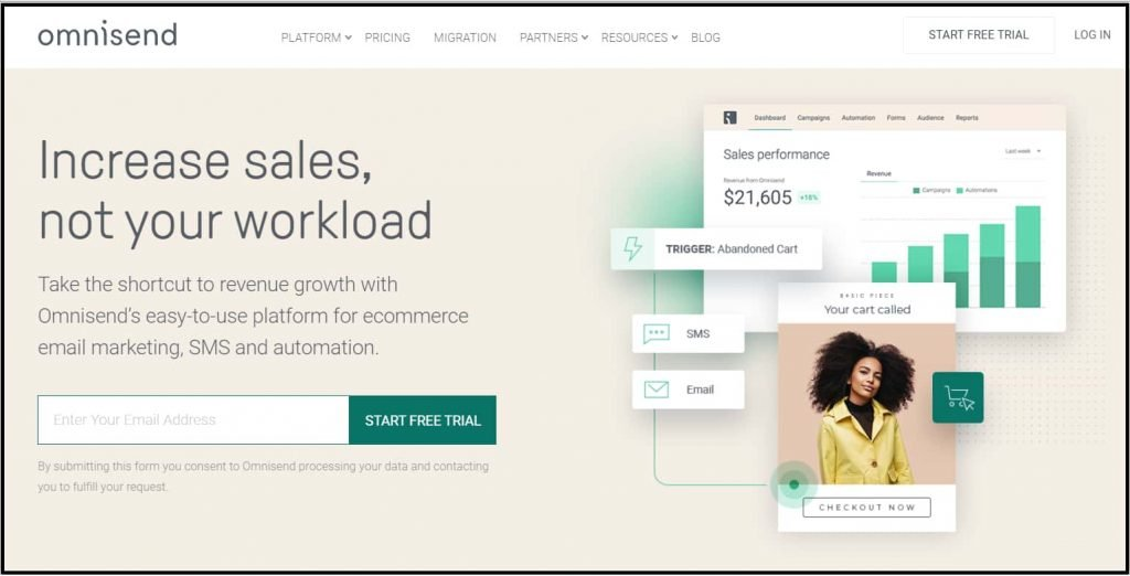 Omnisend - Free email marketing tool for e-commerce