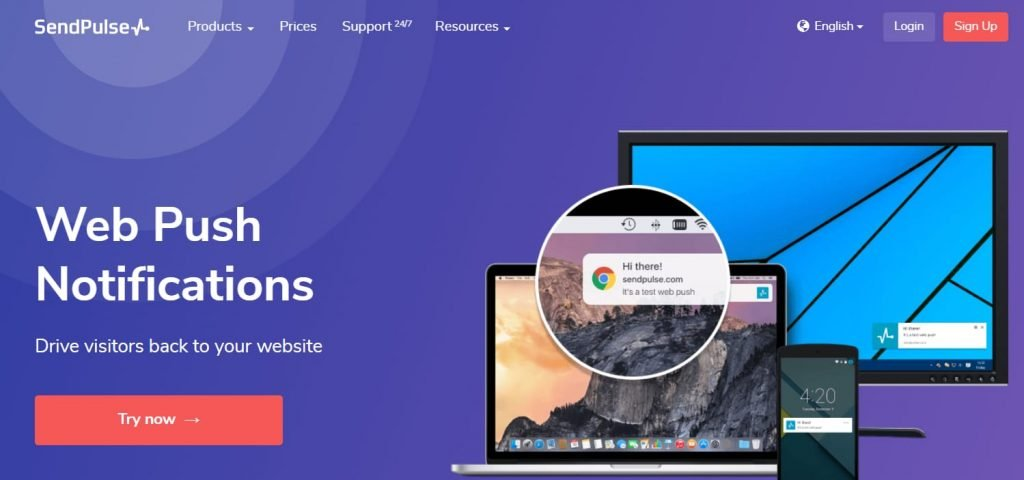 SendPulse - Send Web Push notifications plugin