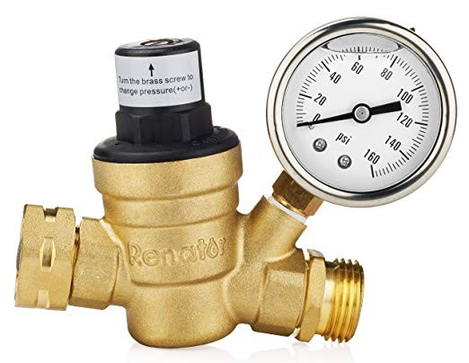 Adjustable Water Pressure Reducer
