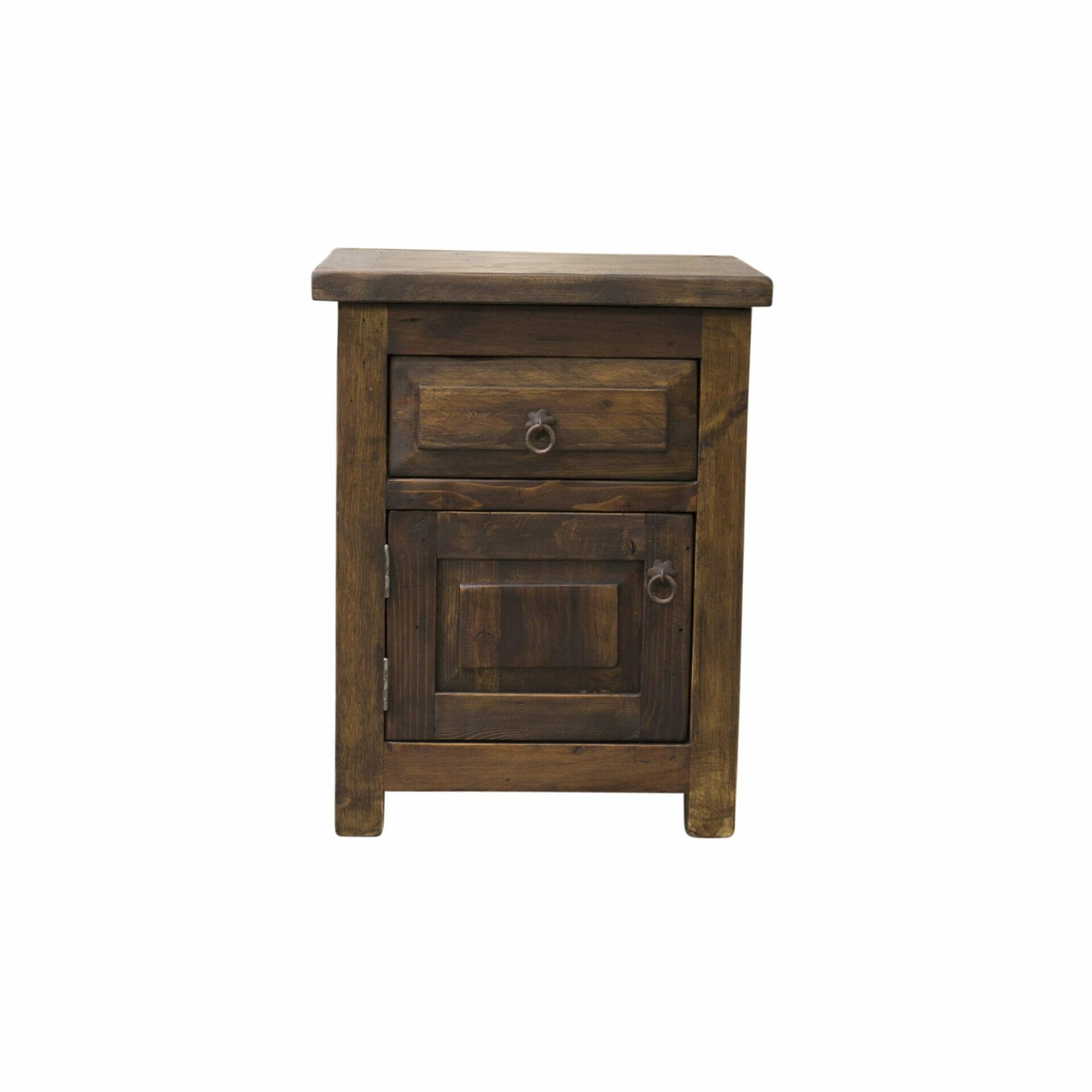 dickens reclaimed wood nightstands
