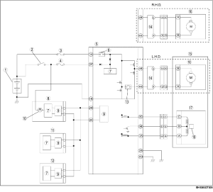ELECTRIC POWER STEERING (EPS) SYSTEM WIRING DIAGRAM