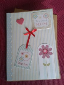 Card-making for mum