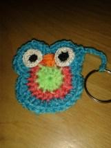 Simply Crochet magazine free kit owl keyring