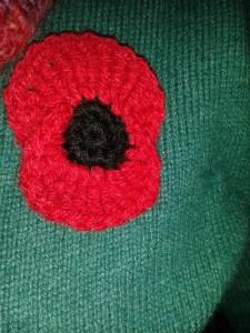 Simply Crochet poppy