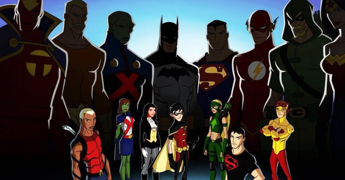 Young justice season 4 banner