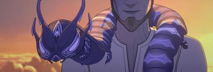 the dragon prince season 4 Aaravos and the caterpillar