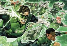 "Rich search results on Google when searched for ""Green Lantern Corps"""