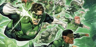"""Rich search results on Google when searched for """"Green Lantern Corps"""""""