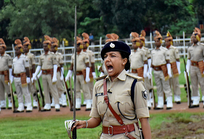 IAS interview question about police