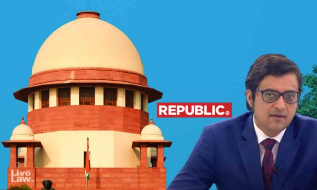 """SC asks Republic TV to approach Bombay High Court as"""" any other ordinary citizen"""""""