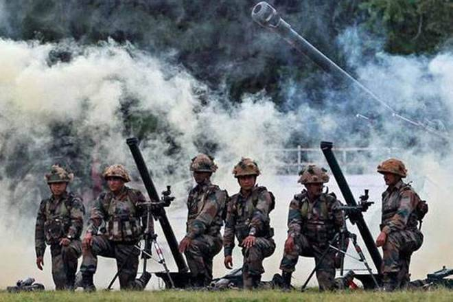 Pakistan fired at India in LoC region