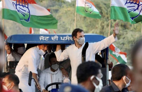 Rahul Gandhi allowed to enter Haryana after drama on Farm Laws Protest