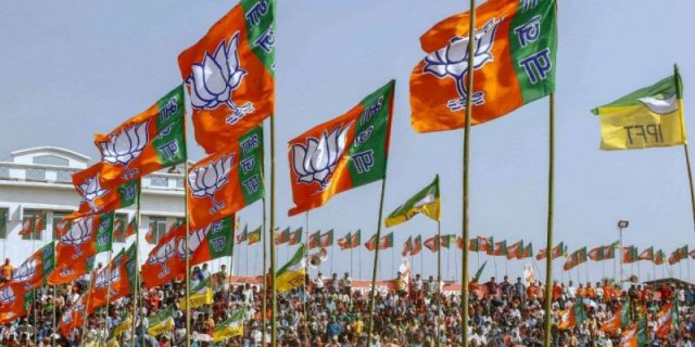 BJP bagged the largest share of corporate donations in 2018-19