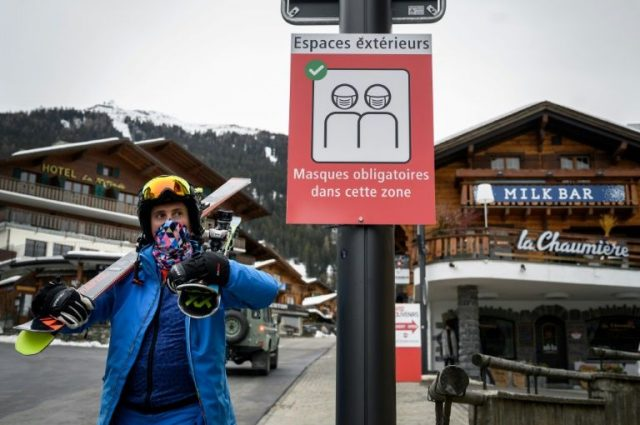 British Tourists forced into quarantine sneak out of Swiss Resort