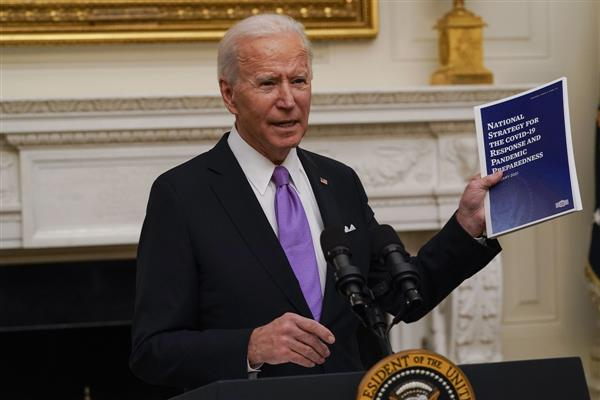 Joe Biden: Launches 100 days mask challenge makes quarantine mandatory for people entering US