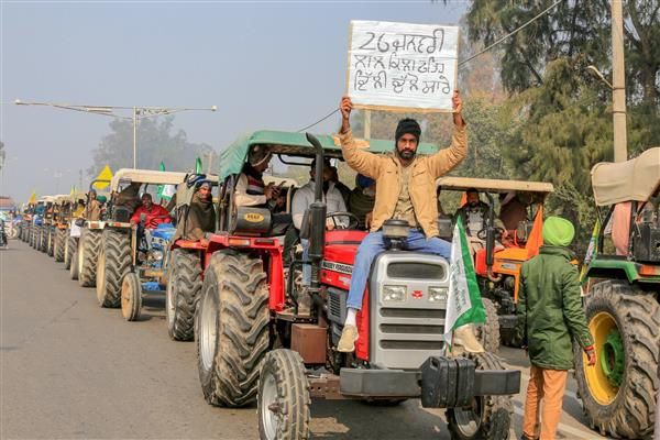 Supreme Court: Intervention misunderstood, Police must take tractor rally call
