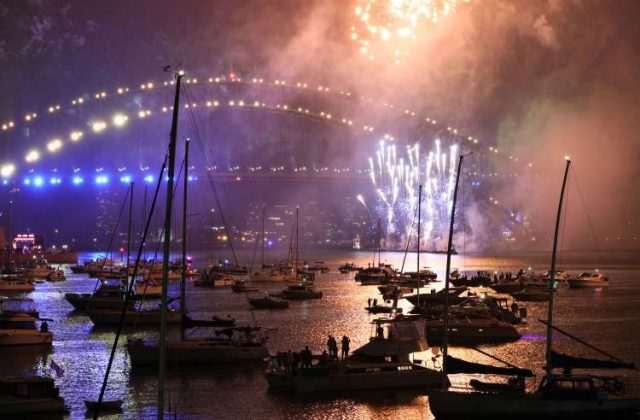 Sydney: Fireworks explode over empty streets, Christchurch as 2020 slinks away into history