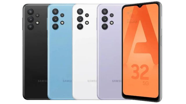Samsung Galaxy A52 5G and A32 4G colour option leaked