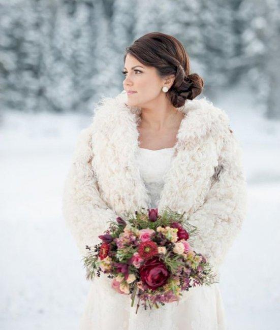 Куртка для невесты. Что одеть на свадьбу в ноябре – идеи ...
