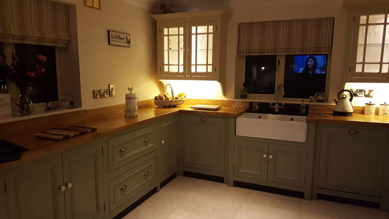 Double Belfast Sink - Foxhall Country Kitchens