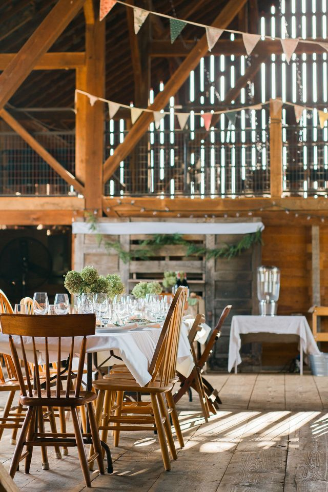Fox Haven Farm Dinner Party Event in the Barn Frederick MD